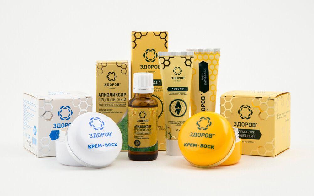 Продукция компании Здоров