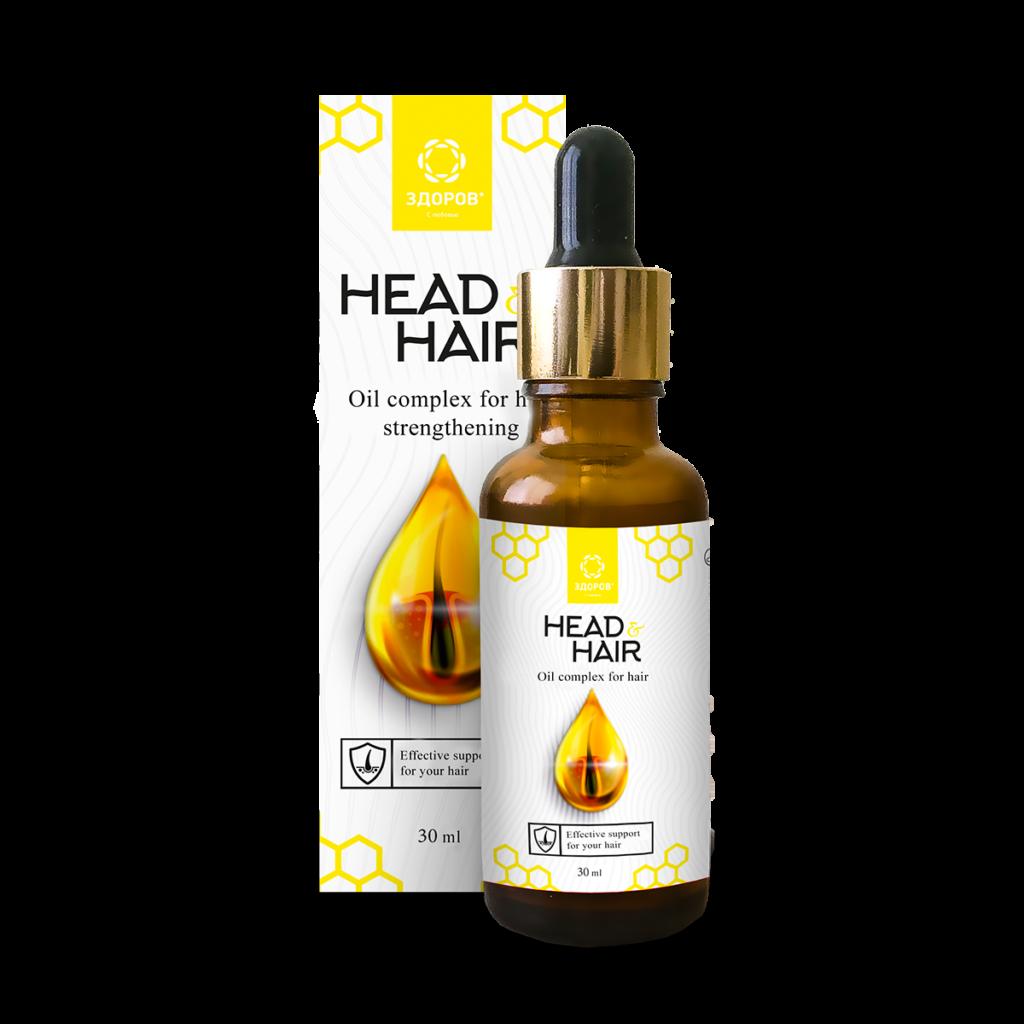 Head&Hair - масляный комплекс для волос