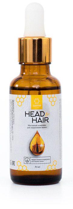 Head&Hair - масляный комплекс для укрепления волос